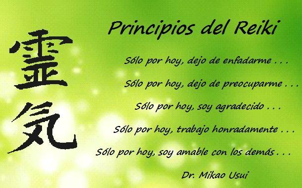 Frases De Vida Positiva: Estos 5 Principios De Reiki, Son Una Guía Que Nos Permiten
