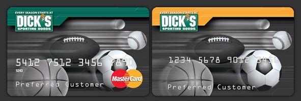 Dicks Credit Card
