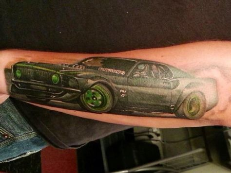 Ford Mustang Tattoos More Than Skin Deep - Muscle Mustangs