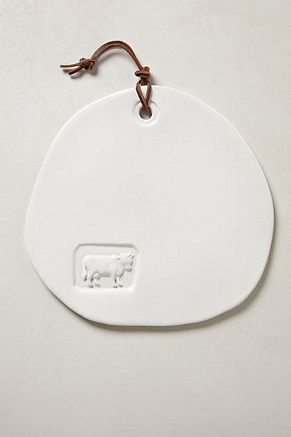 Stoneware Cheese Board #anthropologie