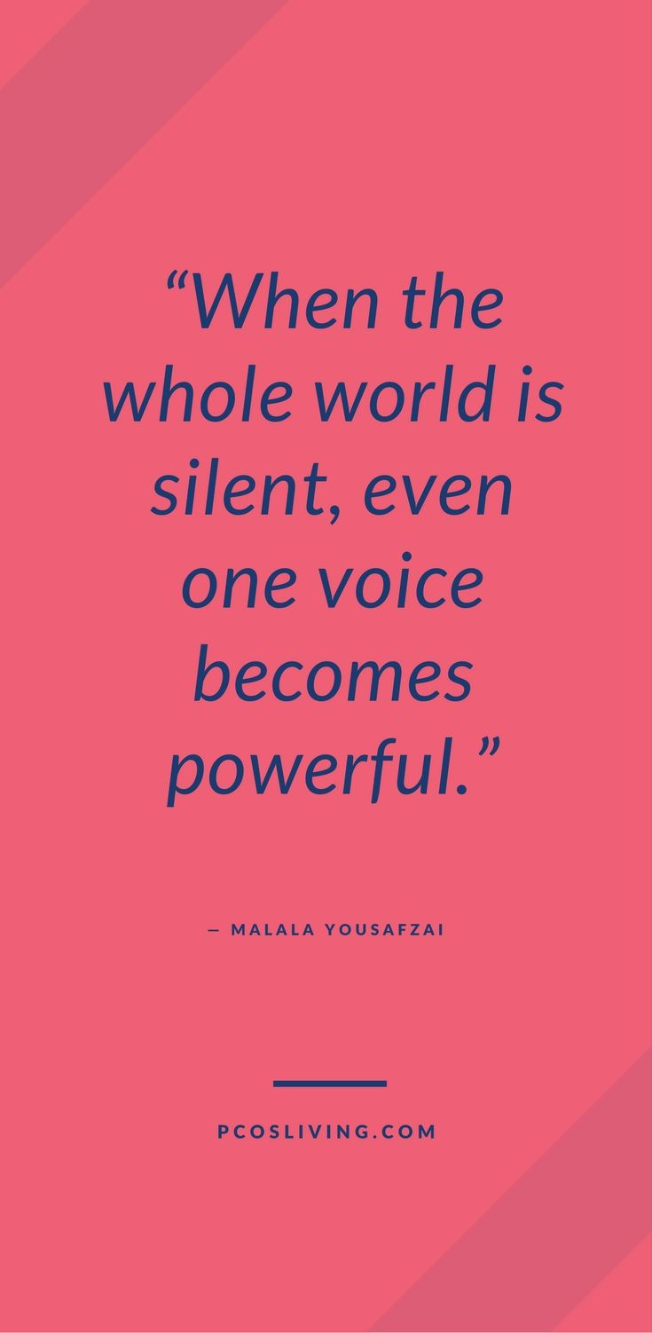 One Voice Can Make All The Difference Speak Your Truth