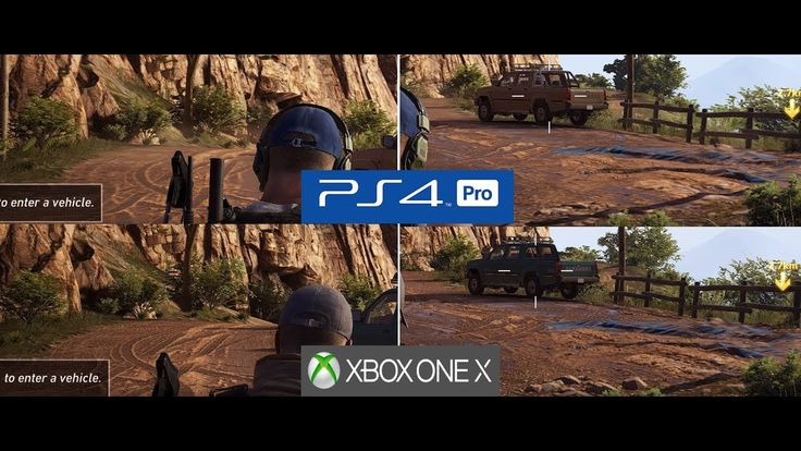 Ghost Recon Wildlands on XBOX ONE X is a Big Upgrade Over PS4 PRO