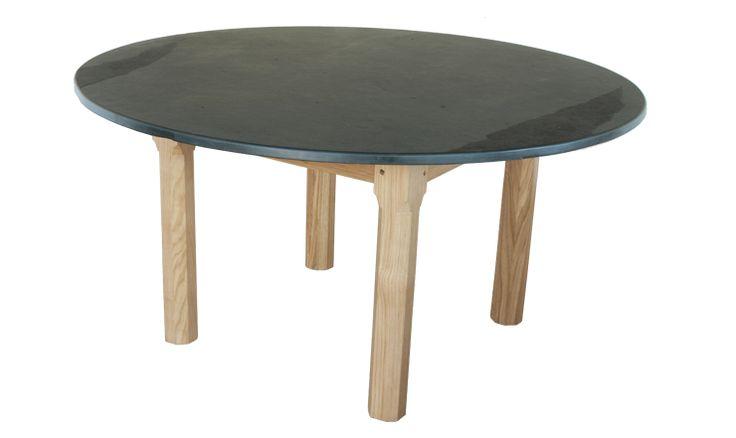 1.5 metre Round Garden Tables www.slatetoptables.com