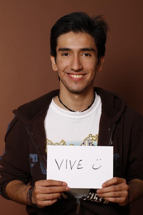 Live, Alejandro Hernández, Estudiante, Monterrey, México.