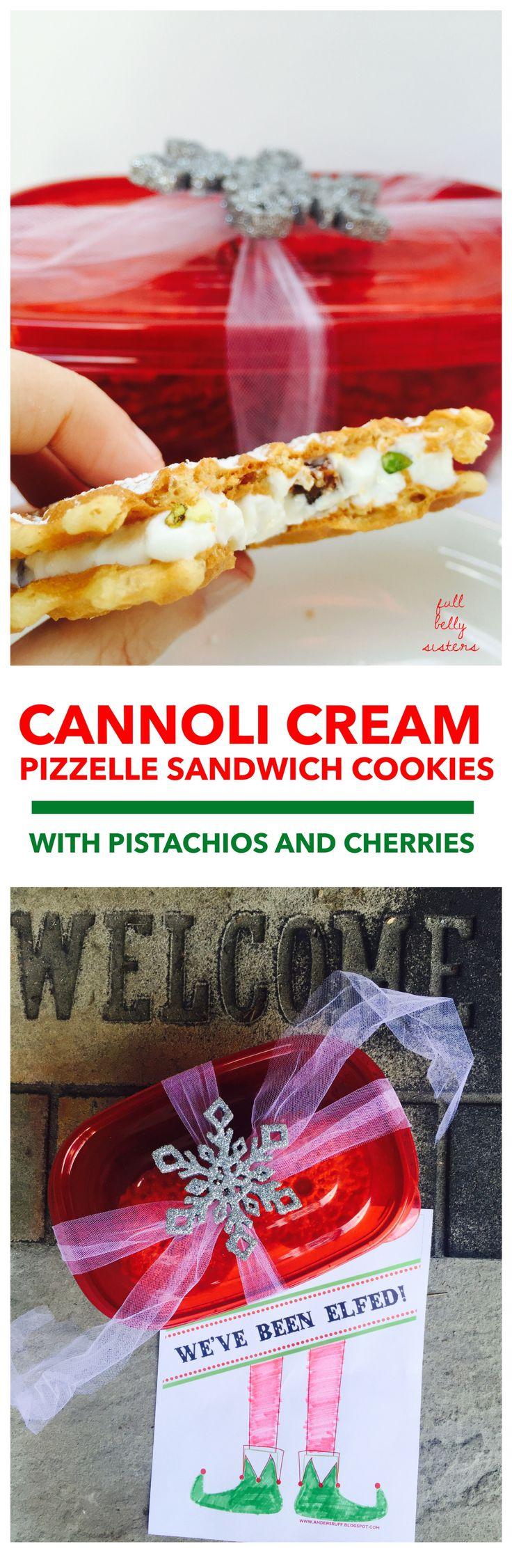 Cannoli cream, Sandwich cookies and Cannoli on Pinterest