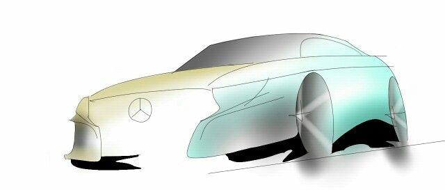 Sketch book galaxy. Design. CAR DESIGN. SKETCH. Mercedes-Benz. ●▶Massimo Serafini◀●