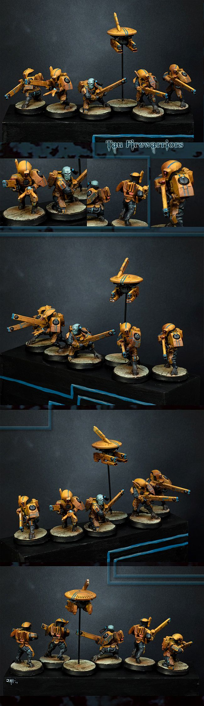 Tau Fire Warrior Squad