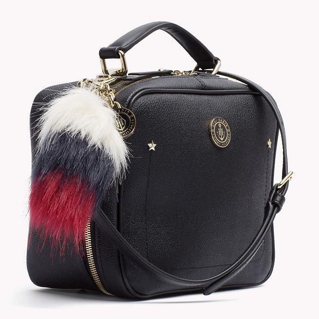 Tommy Hilfiger Eng Anliegende Mini-handtasche Von Gigi Hadid - black / corporate mix - Tommy Hilfiger Taschen - detail-Bild 3