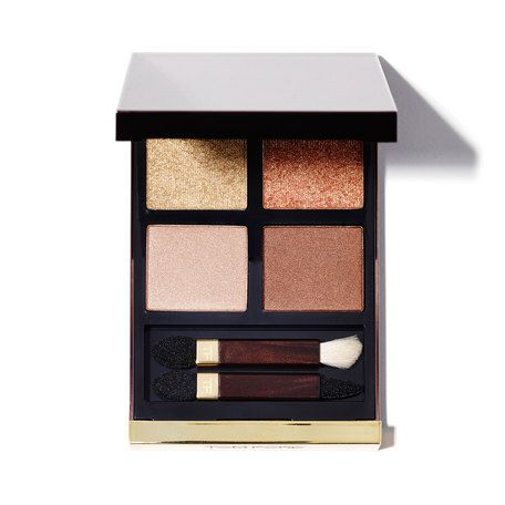 Tom Ford eye color quad eyeshadow palette in Golden Mink. Perfect for fall!