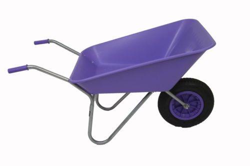 7-Fun-Colours-85-ltr-Plastic-Wheelbarrow-with-Pneumatic-Wheel-Self-Assembly