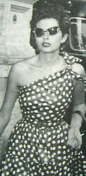 Princess Soraya, the Shah of Iran's first wife.