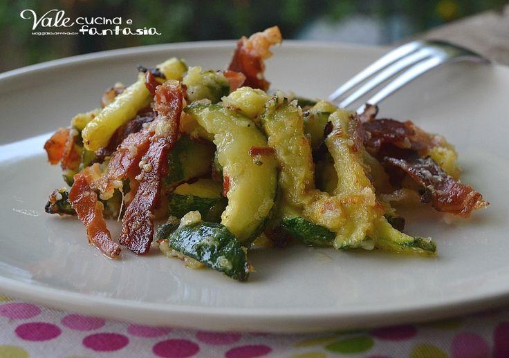 Zucchine saporite al forno ricetta contorno veloce un contorno facile veloce e…