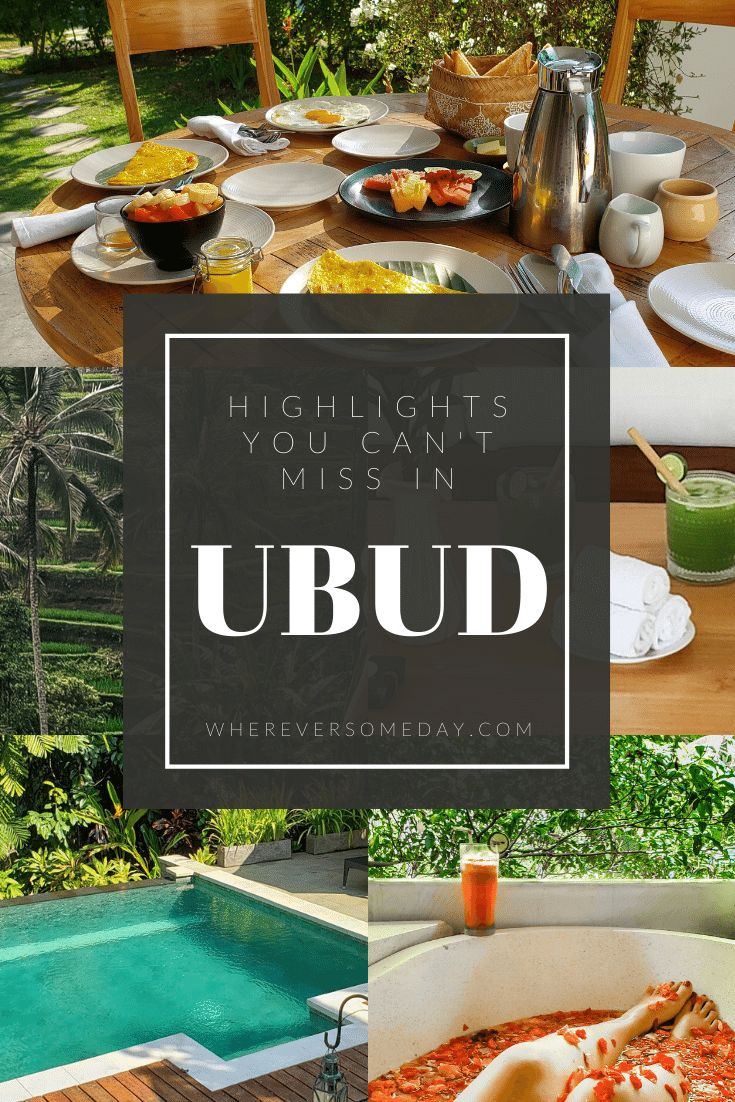 Highlights of Ubud Indonesia – Ubud, with it's lai…