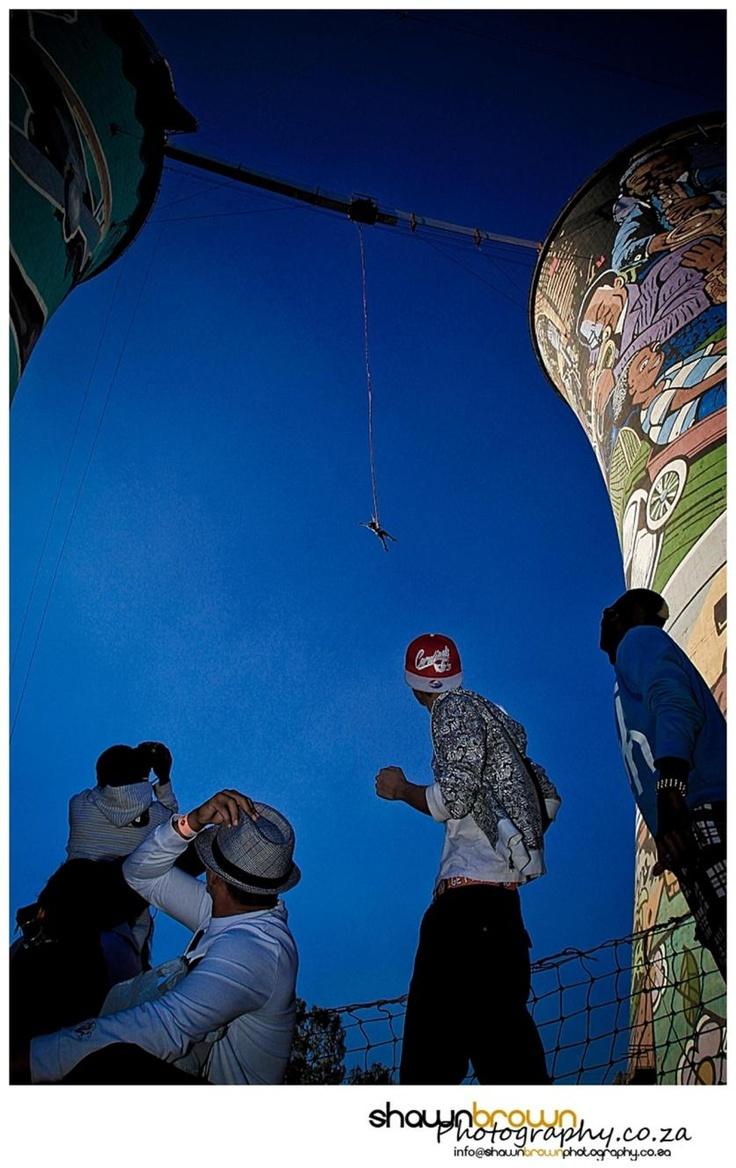 """""""Bungeeeee..Aaaaaaaaaa!"""" - Urban Sessions – Street Culture at Orlando Towers, Soweto"""
