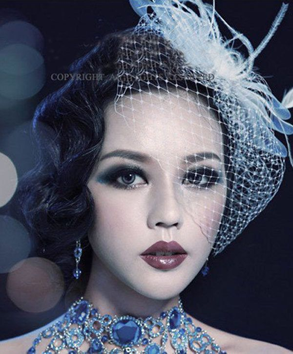 2015 Hot sale elegant wedding hair accessories bride tiara fashion bride veil crystal crown headdress by hand photo hairpins-in Hair Jewelry from Jewelry on Aliexpress.com | Alibaba Group