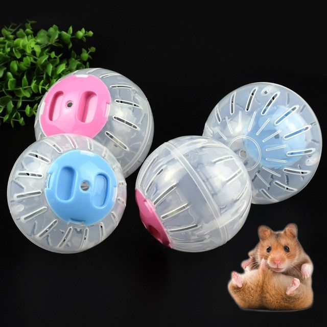 Sale Breathable Clear Ball Without Bracket Hamster Toy 2 Size Pets Product Small Running Ball 2colors Plastic Fit For Small Pe Hamster Toys Small Pets Pet Toys