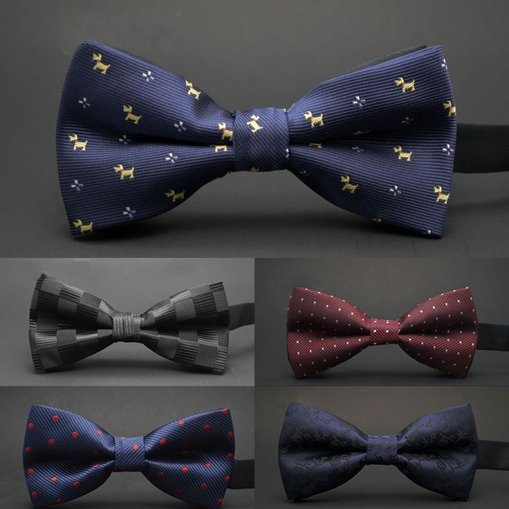 New Wedding Polyester Silk Bow Tie //Price: $10.9 & FREE Shipping //     #giftshop #lalapros #giftgiving