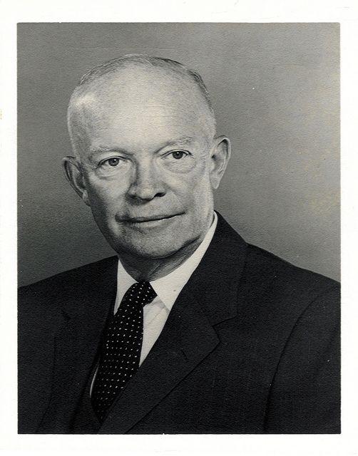 President #34 Dwight Eisenhower