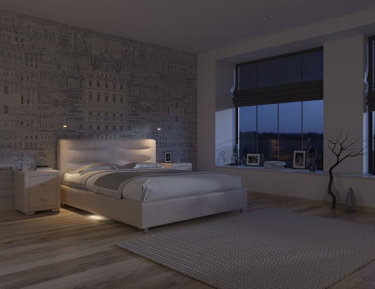 Правильный мягкий свет и удобная система подсветки сделают отдых в спальне комфортным и полноценным. Светодиодный светильник размещается на боковинах кровати, он оснащен датчиком приближения и создан для удобства при подъеме в темное время суток. Сенсор включается на расстоянии до 2 метров, подсветка активна 30 секунд. Светильники на изголовье кровати оснащены гибкой ножкой, направление света легко настроить для приятного отдыха с любимой книгой. https://ormatek.com/catalog/furniture/