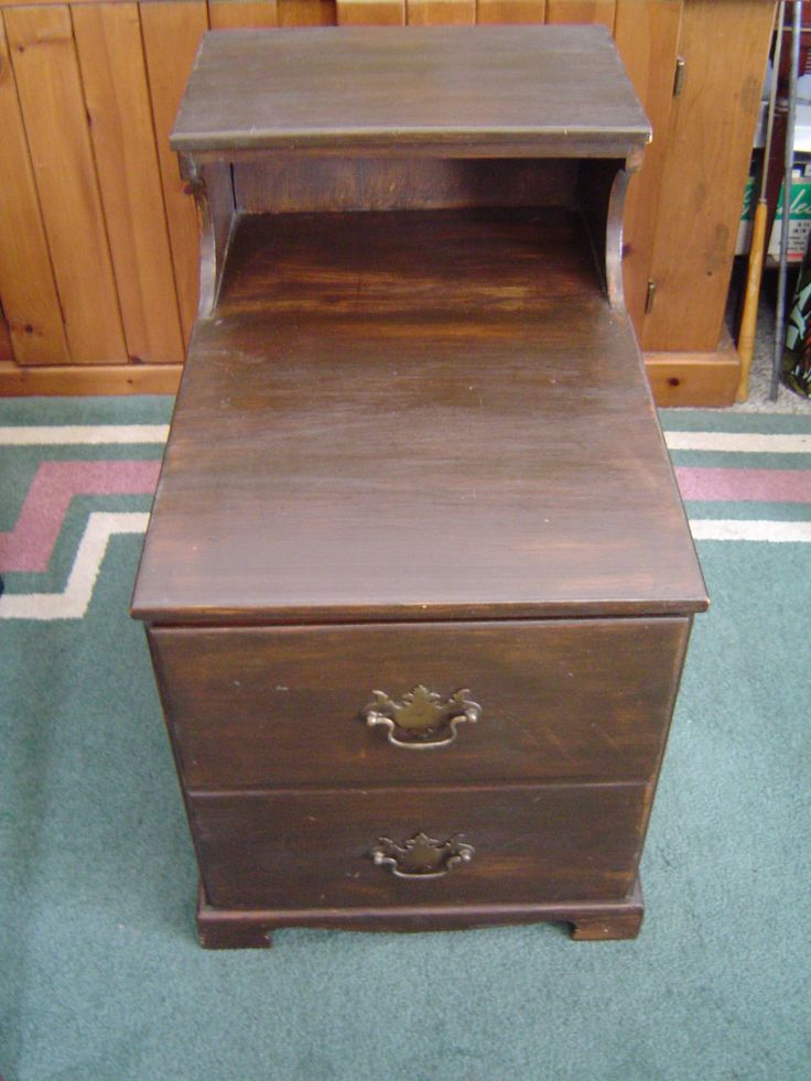 MasterCraft End Table, File Cabinet Vintage Furniture LOCAL PICK UP Only  Warren, Michigan By