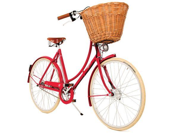Pashley Britannia Traditional Ladies Bike - Red