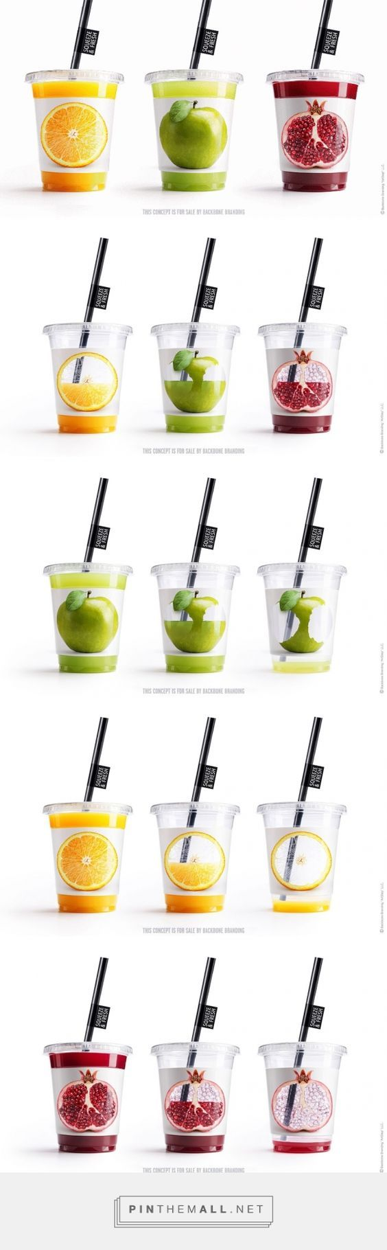 Squeeze & Fresh Juice Concept designed by Backbone Branding (Armenia) - http://www.packagingoftheworld.com/2016/03/squeeze-fresh.html