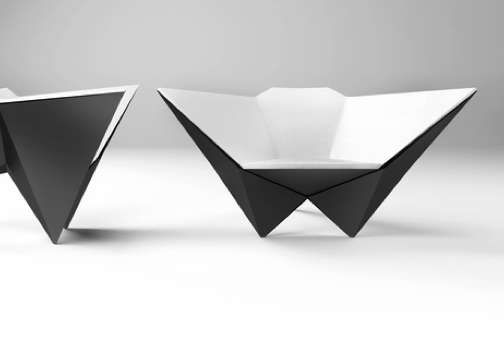 50 Abstract Geometric Furniture Designs - From Geometric Lawn Furniture to Sharp Stackable Seating (TOPLIST)