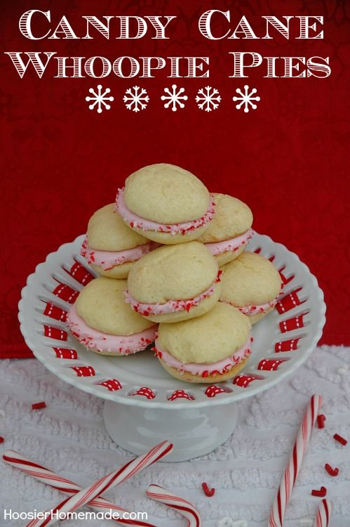 Easy Candy Cane Whoopie Pies