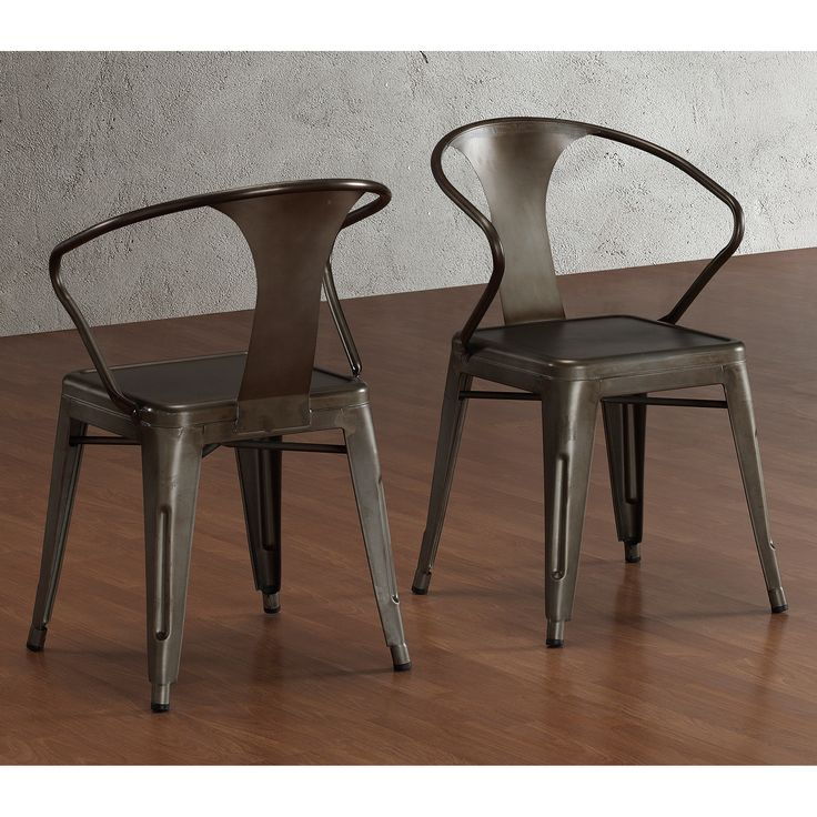 Charming Tabouret Stacking Chair (Set Of This Set Of Dining Room Chairs Is Perfect  For Adding A Vintage Look To Your Home. Crafted With A Solid Steel  Construction ...