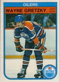 1982-1983 O-Pee-Chee #106 - Wayne Gretzky