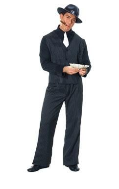 Gangster Halloween Costume - Mens