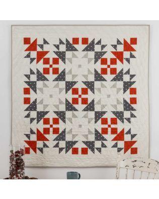 "GO! Qube 9"" Nordic Winter Quilt Pattern"