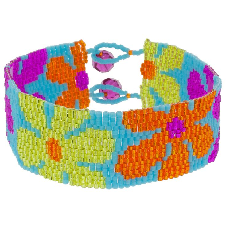 Miss Daisy Bracelet | Fusion Beads Inspiration Gallery