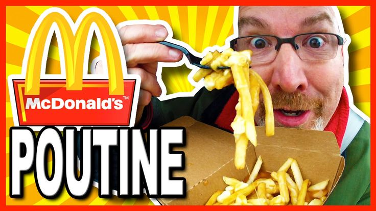 McDonald's Poutine Review and Drive Through Test. POUTINE - Fries, Chees...