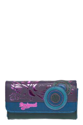 Desigual Women's Violeta wallet. Measurements: 19x11x4 cm. / 7.5