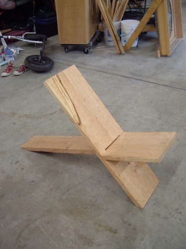 plank chair how to