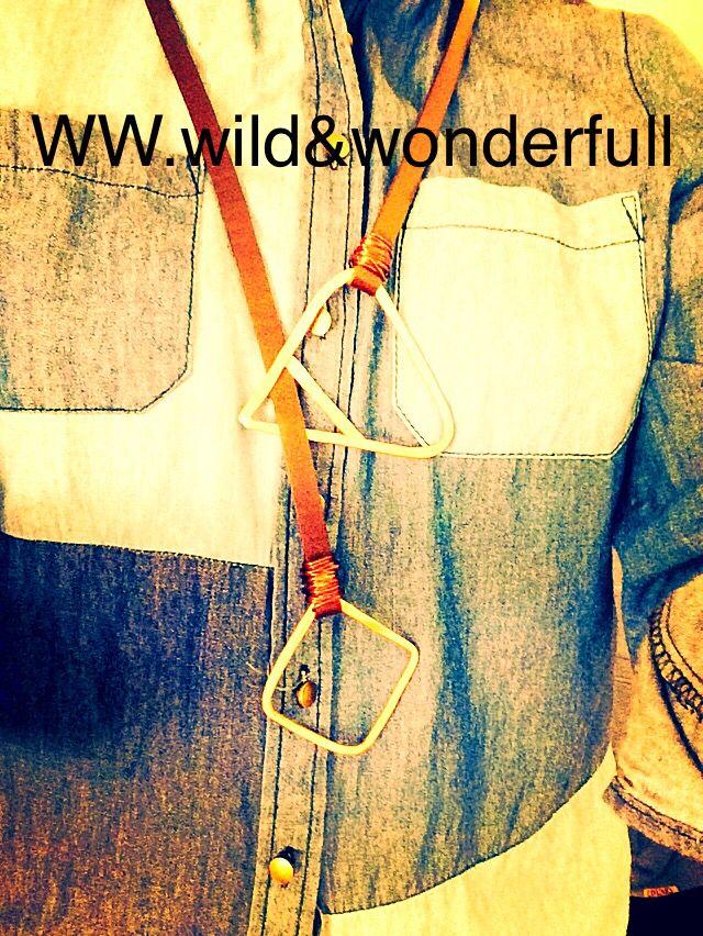Leather & Brass