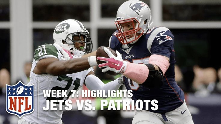 Jets vs. Patriots | Week 7 Full Game | NFL
