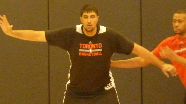 7'5 Giant Sim Bhullar And Key Small Forwards At #Raptors Workout