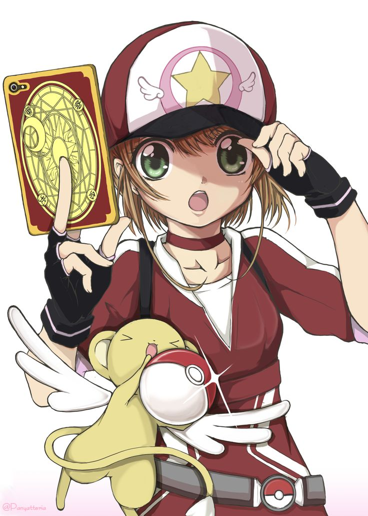 K Sakura at... Pokemon????!!!! (Cardcaptor Sakura)