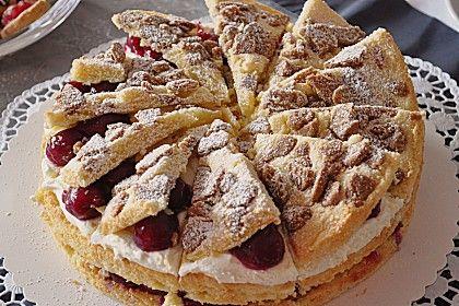 Spekulatius - Kirsch - Torte 1