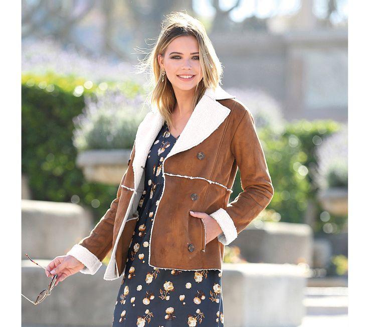 Kabát s kožušinou | modino.sk #modino_sk #modino_style #style #fashion #newseason #autumn #fall