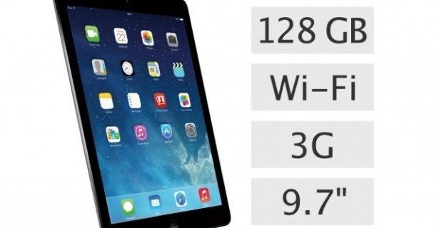 iPad Air 128GB Wifi+3G Fiyatları (ME988TU/A) #apple #ipad #appleipad #ipadair #ipadmini #ipadretina #ipad2