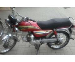 Hero Bike Model 2014 Genuine Spare Parts New Tyre Sale in Rawalpindi