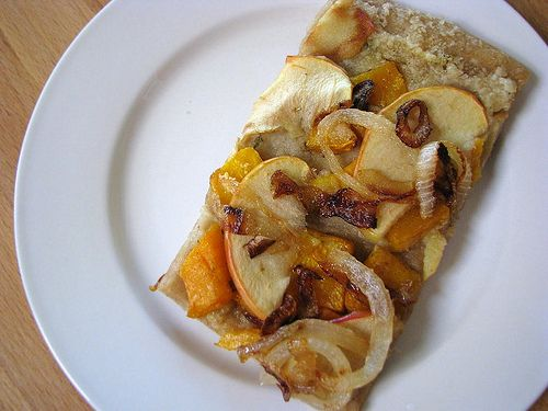 .... Roasted Apple, Butternut Squash, and Caramelized Onion Pizza ...