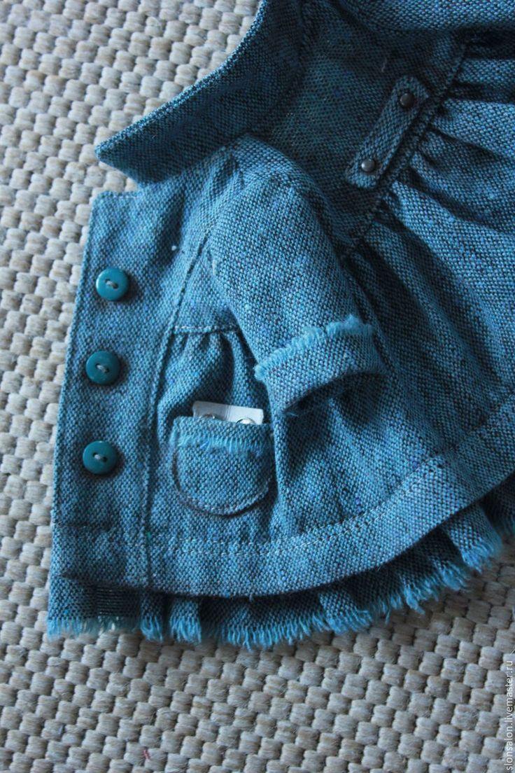Купить Выкройка шикарного БОХО-ПАЛЬТО для куклы - Красивое пальто, бохо-стиль, сшить пальто