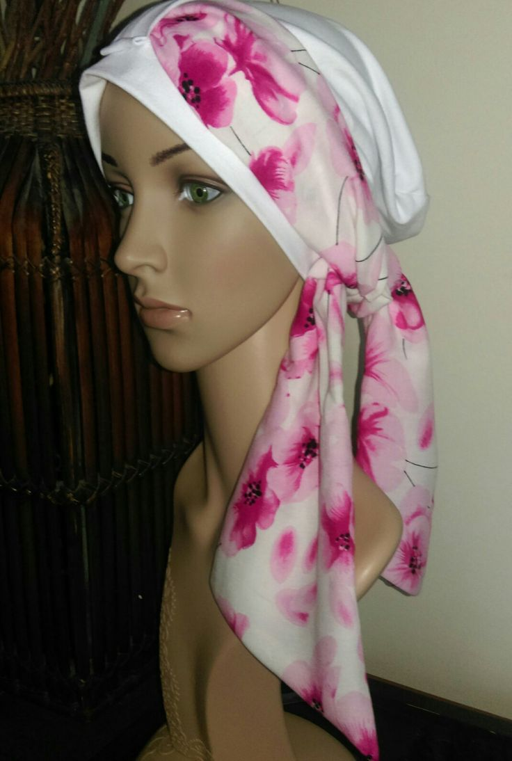 Pretty in Pink Chemo Cap by Dy's Sewing Room. Find me on Facebook