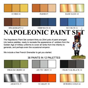 Wargames Foundry :: The Napoleonic Painting Set