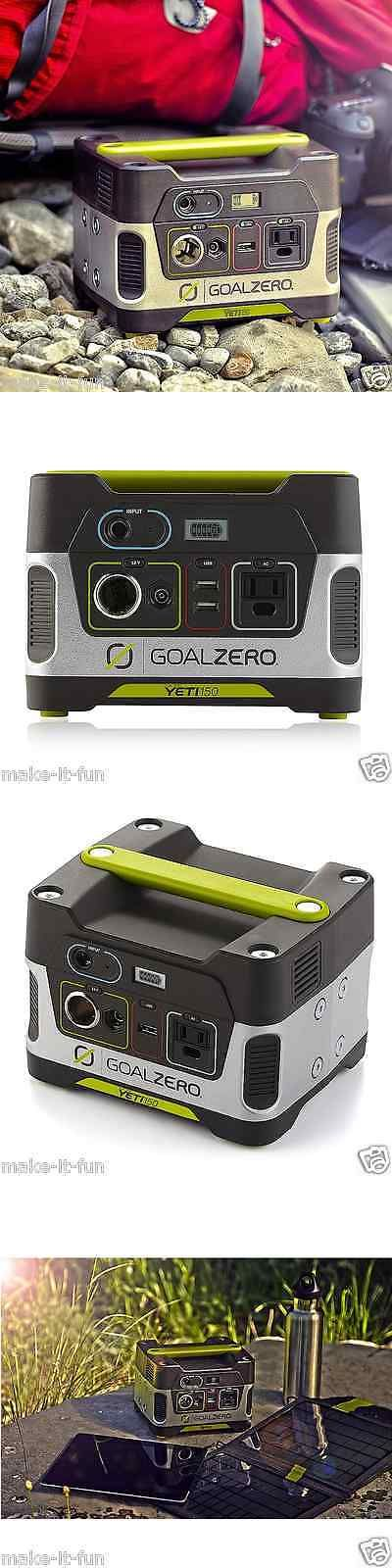 Generators and Heaters 16039: Emergency Quite Silent Generator Portable Solar Ac Power Inverter Camping Gear BUY IT NOW ONLY: $246.35