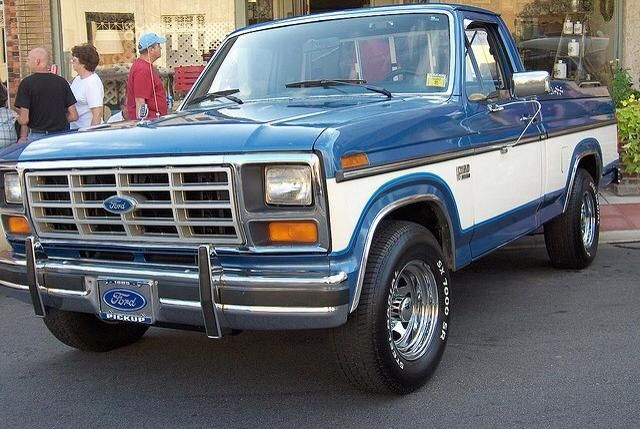 Own a 2 toned 1985 f150
